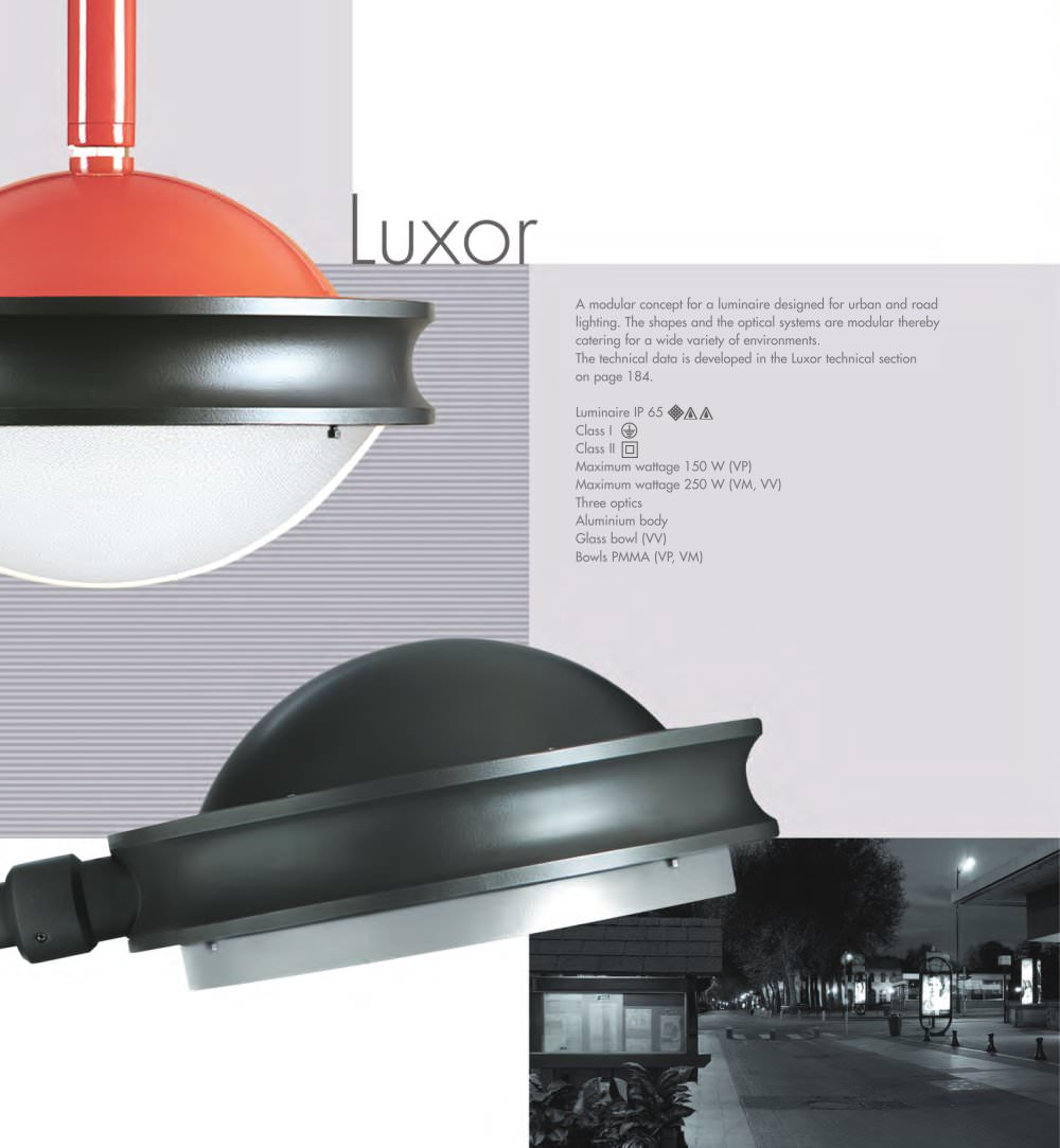 LUXOR - 1 / 2 Pages  sc 1 st  Catalogues Archiexpo & LUXOR - Philips LIGHTING France INDAL - PDF Catalogues ... azcodes.com