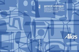 General catalogue Alias 2012
