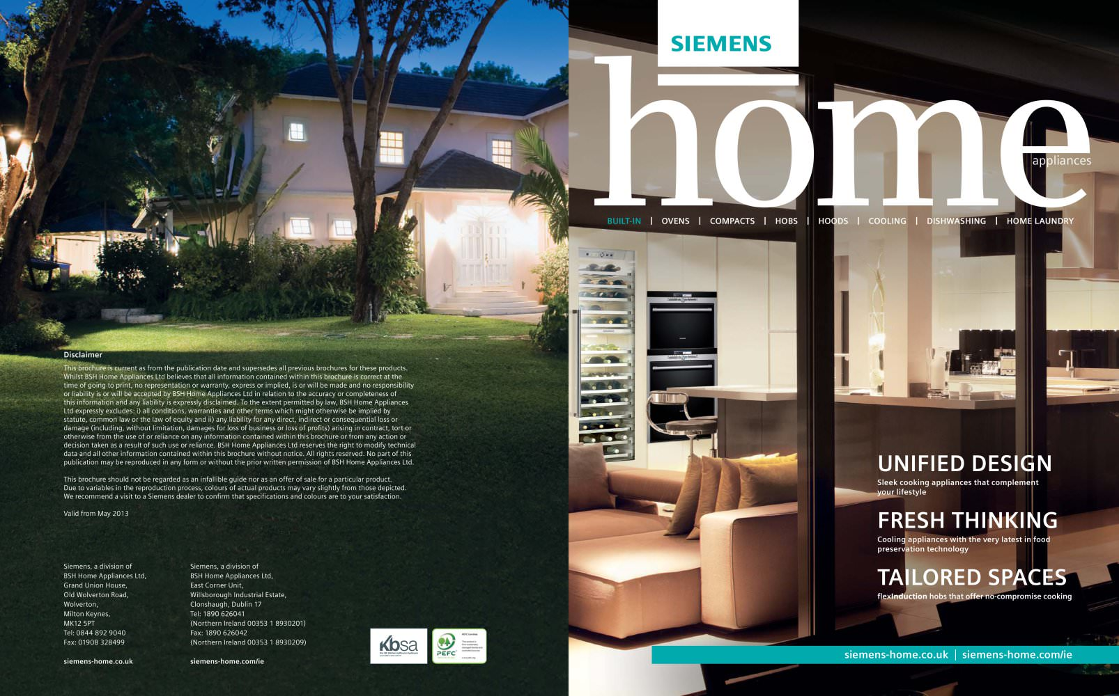 Built in brochure - Siemens Home Appliances - PDF Catalogues ...