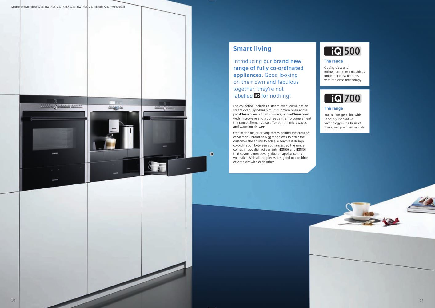 Smart Living 2009 - Siemens Home Appliances - PDF Catalogues ...