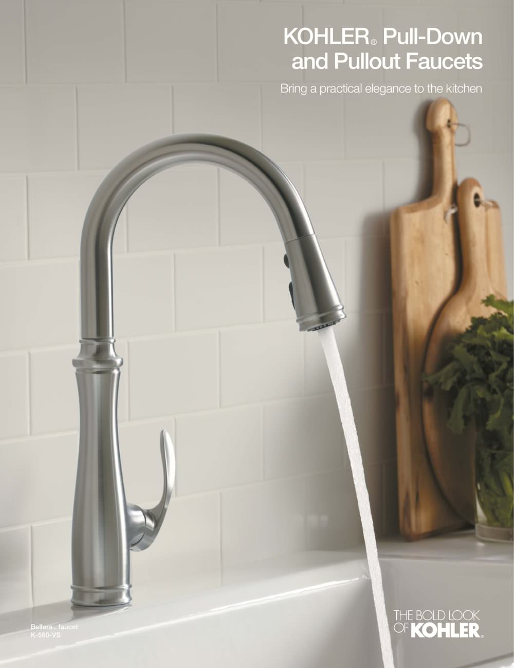 Awesome Kitchen Faucet Brochure (Pulldown/Pullout)   1 / 4 Pages