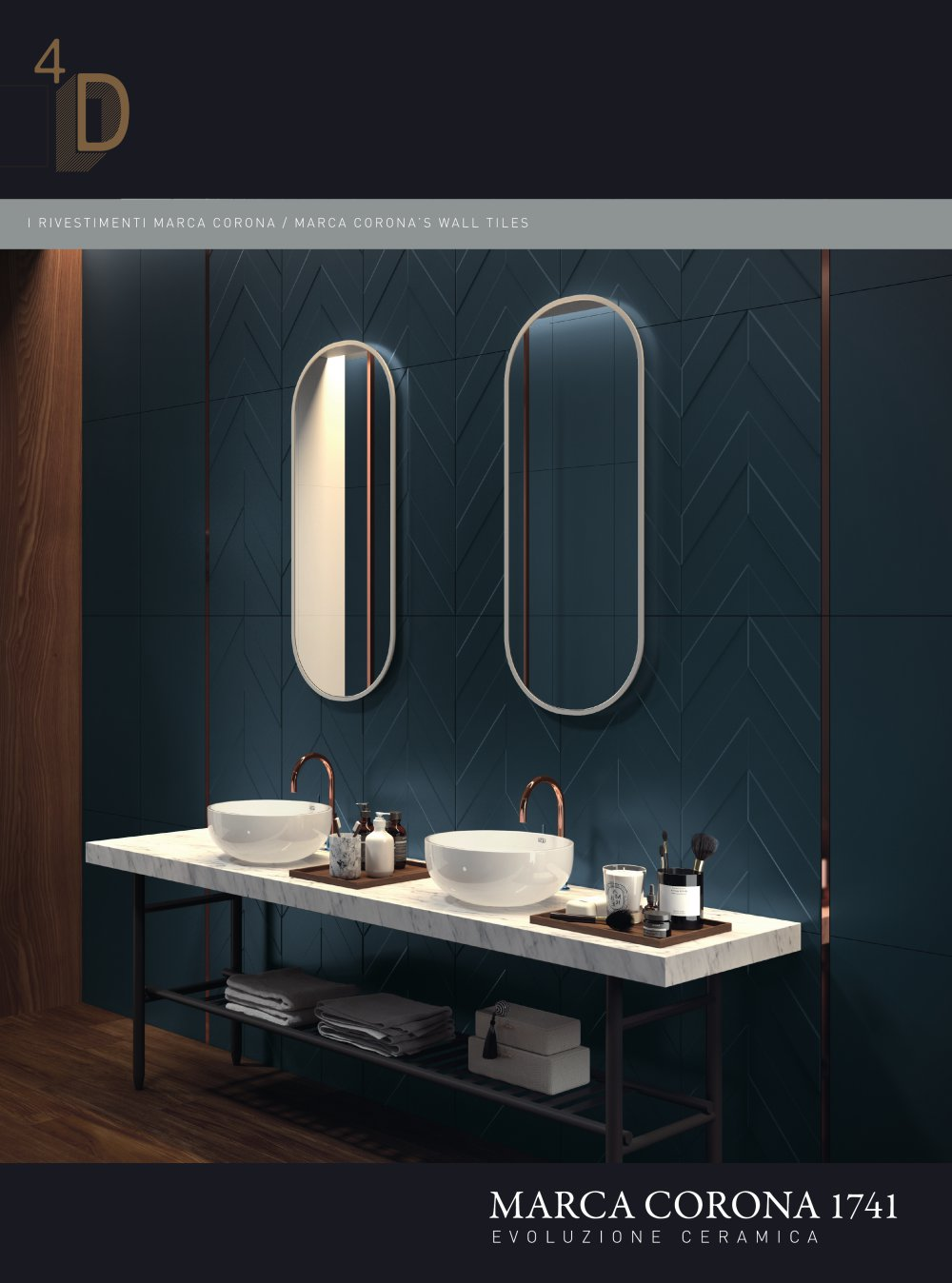 4D - CERAMICHE MARCA CORONA - PDF Catalogues | Documentation | Brochures