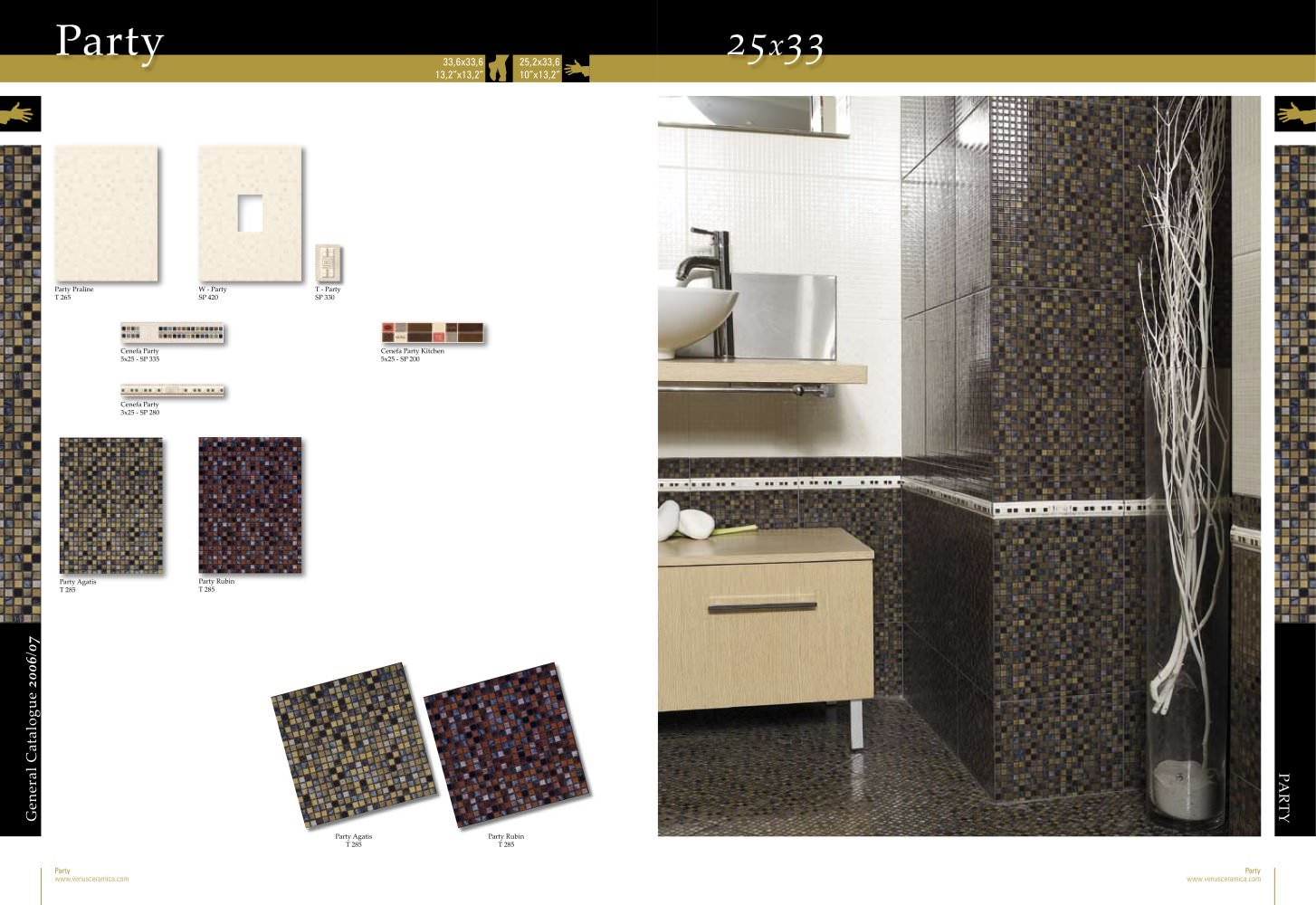 Ceramic mosaic tile venus ceramica pdf catalogues ceramic mosaic tile 1 1 pages dailygadgetfo Gallery