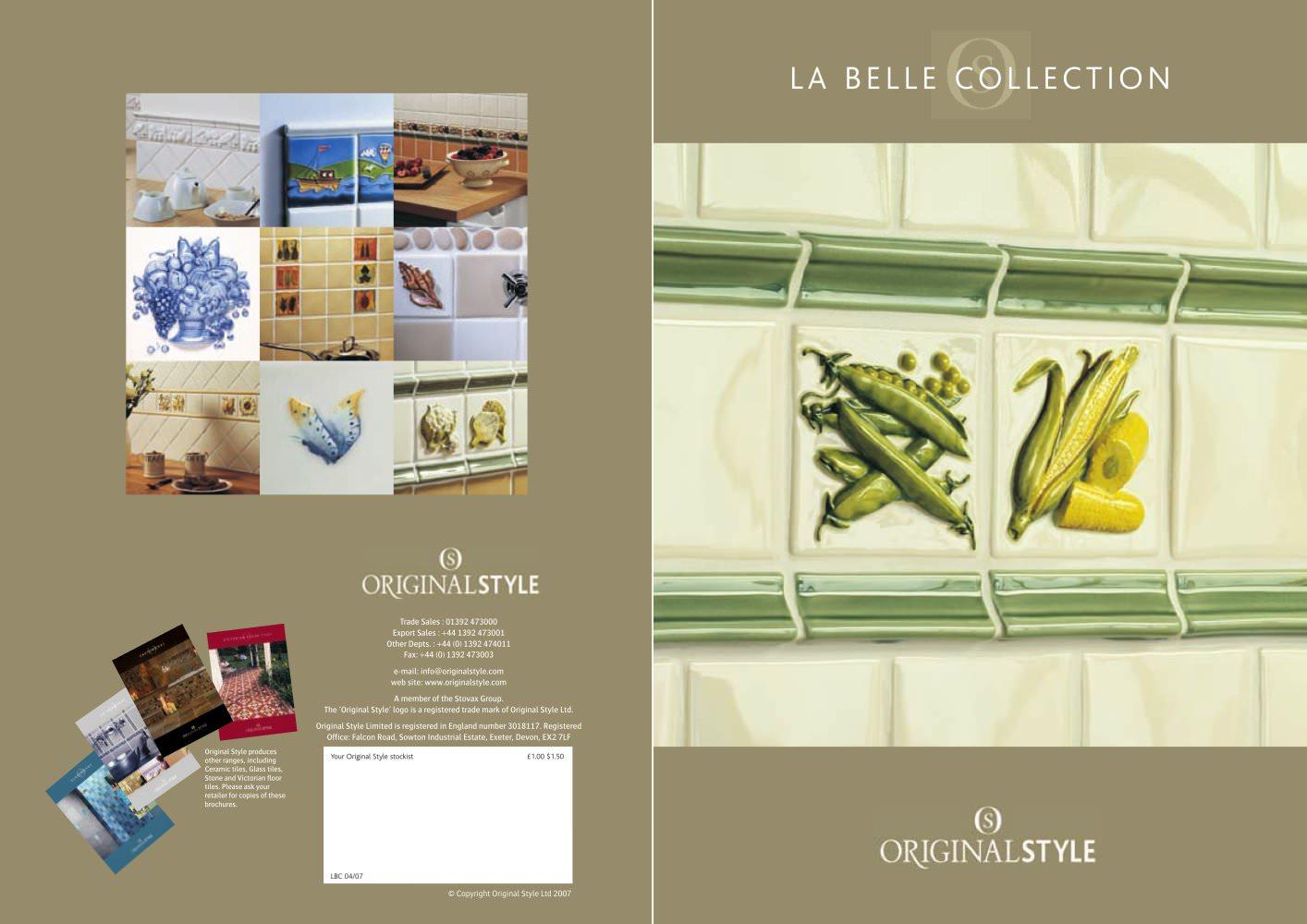 4 Tiles La Belle Collection Full Catalogue Original Style Pdf