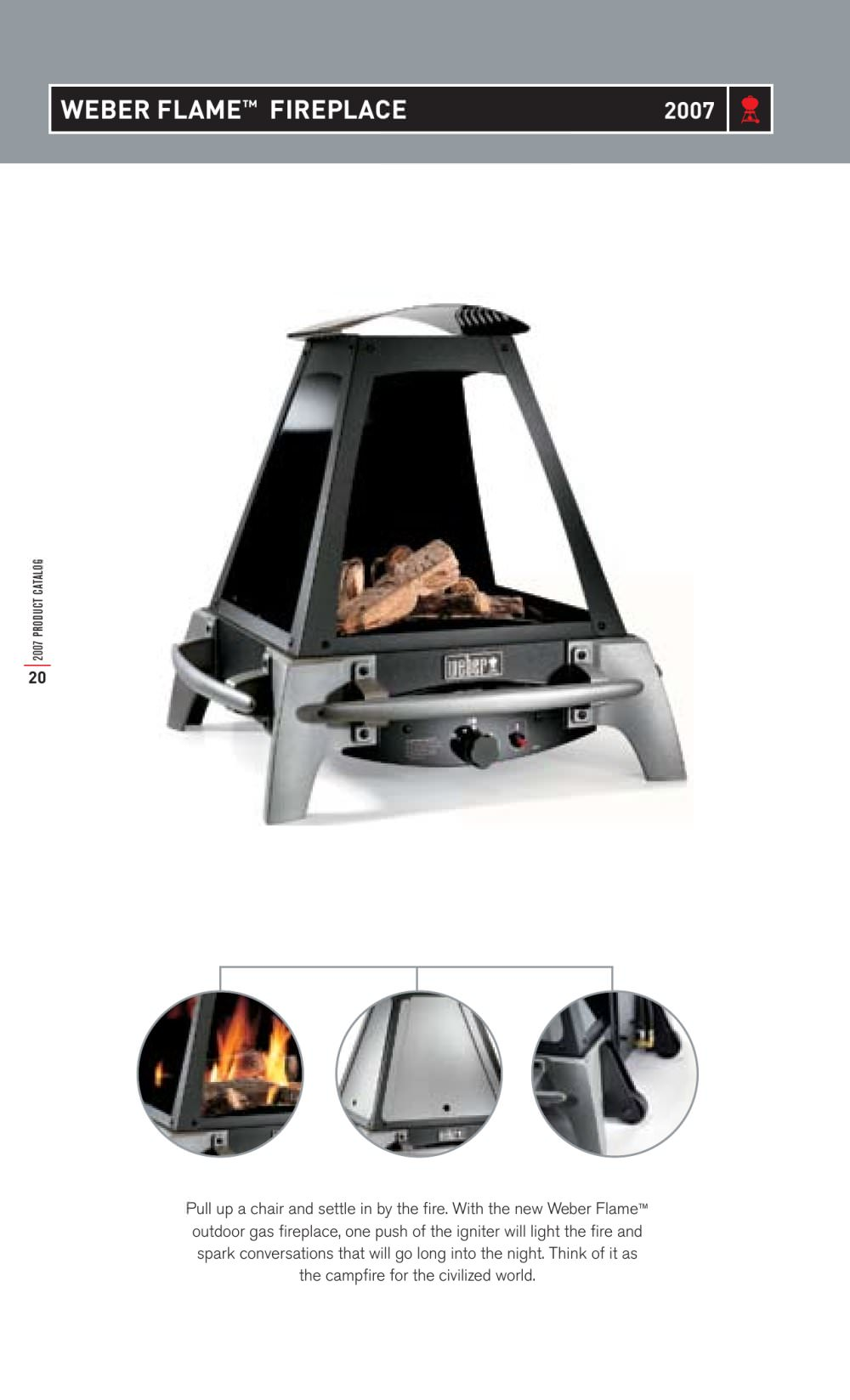 Weber Flame Fireplace Weber Usa Pdf Catalogs Documentation