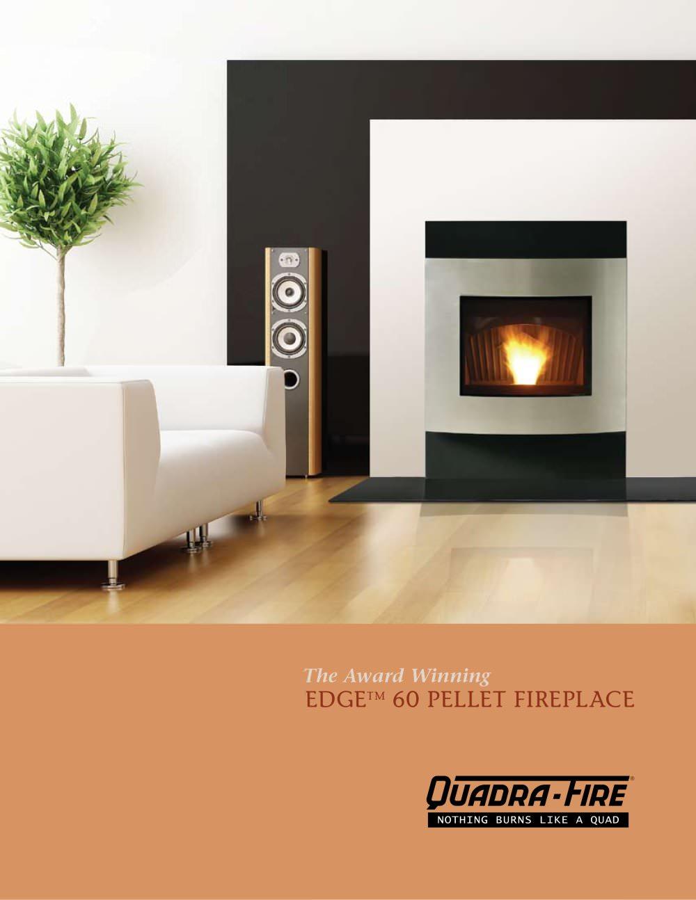 edge 60 pellet fireplace quadra fire pdf catalogues