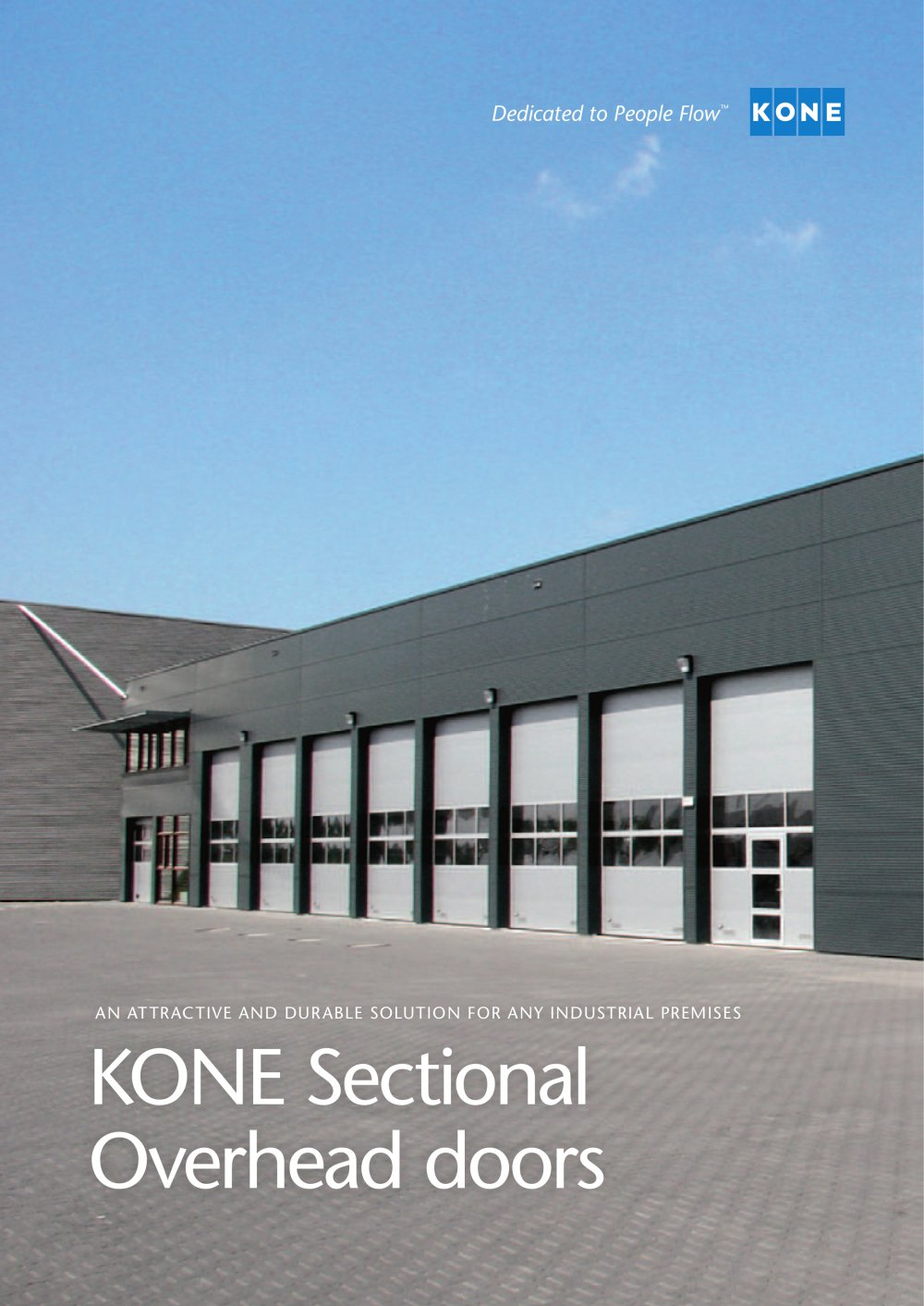 KONE Sectional Overhead doors - 1 / 20 Pages & KONE Sectional Overhead doors - KONE - PDF Catalogues ...