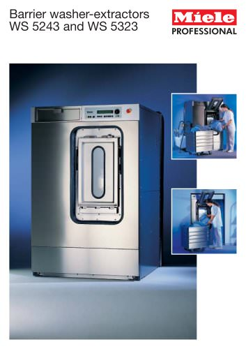 Barrier washer-extractors - Miele Professional - PDF Catalogs