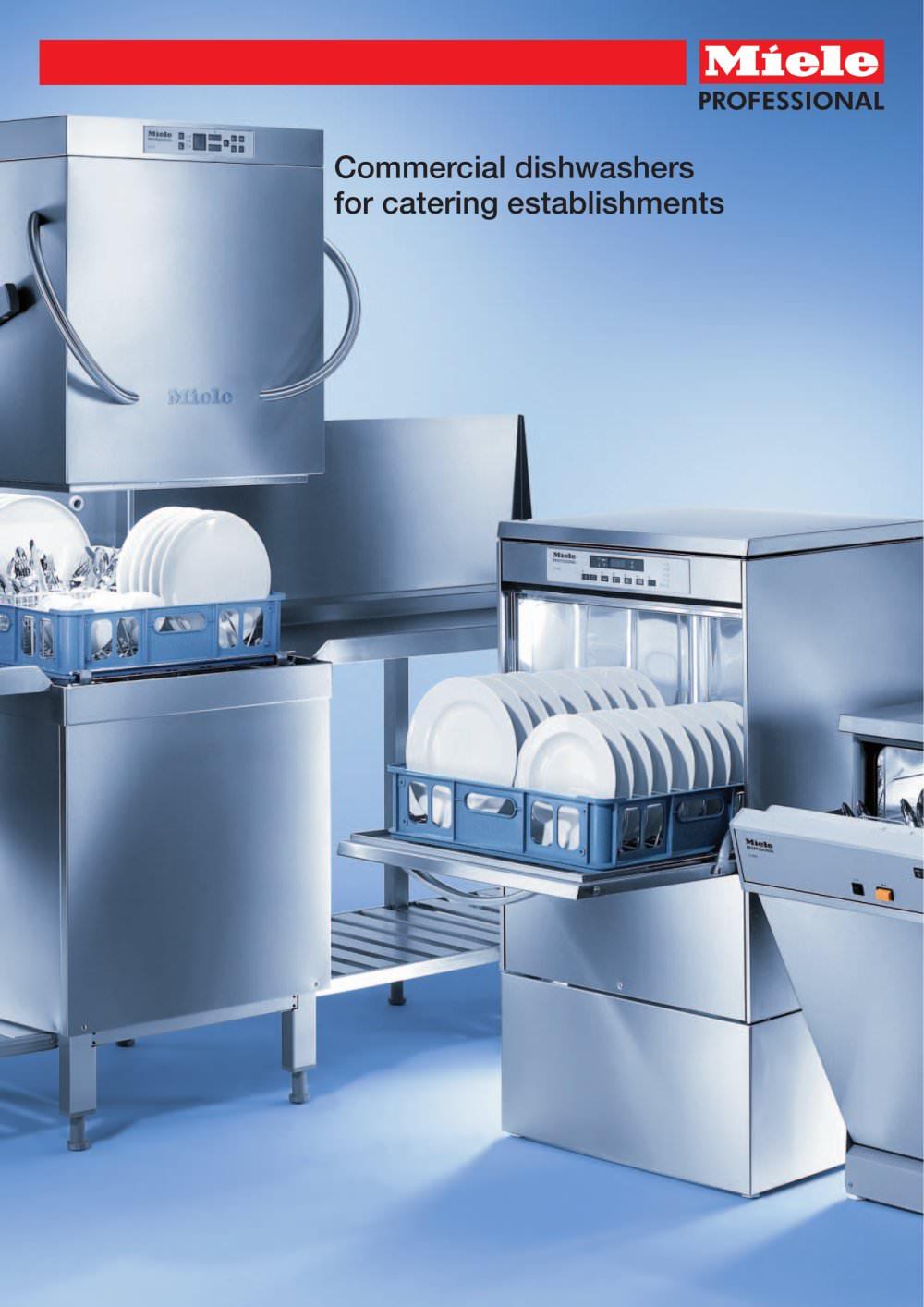 Commercial dishwashers - Miele - PDF Catalogues | Documentation ...