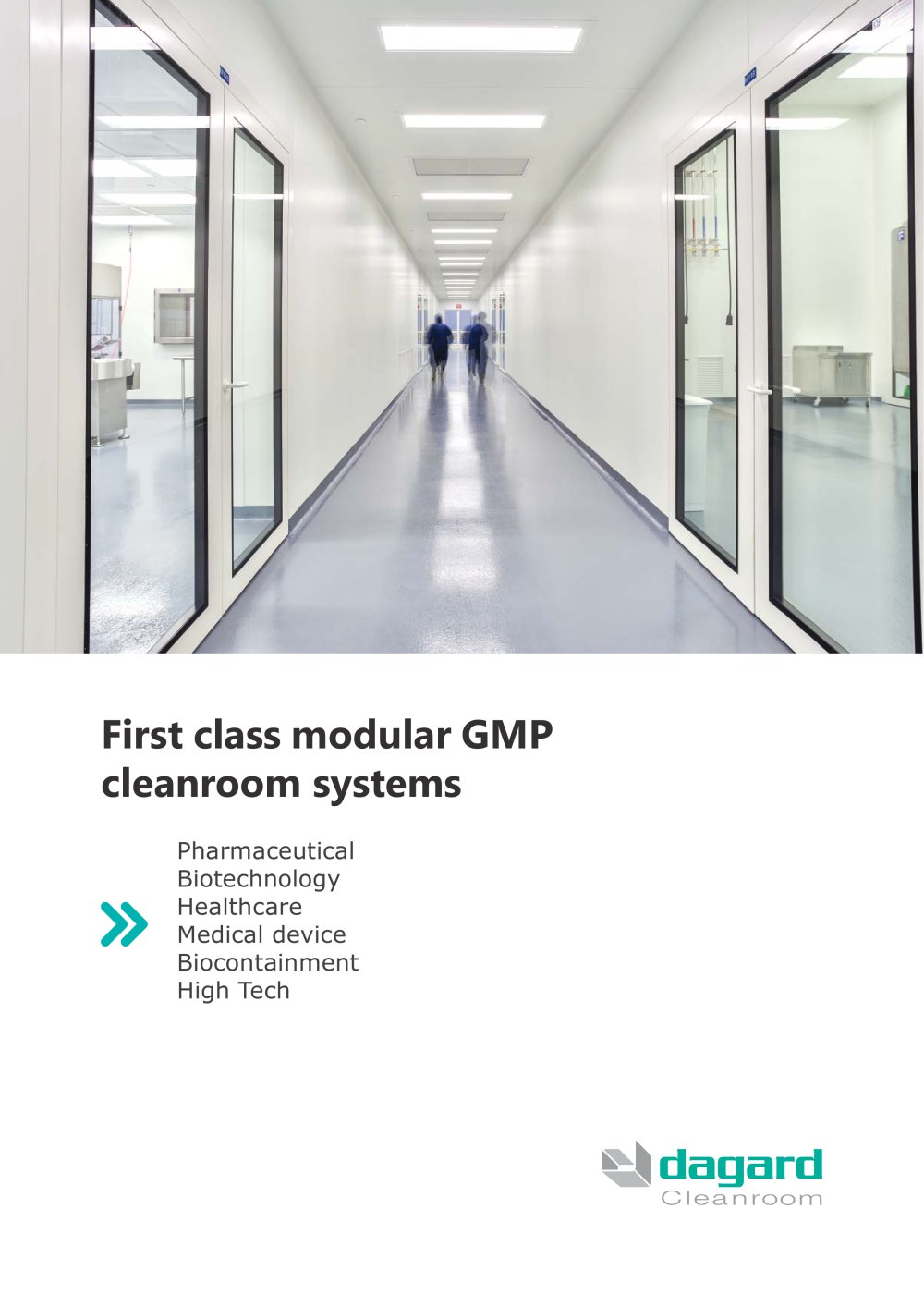 First class modular GMP cleanroom systems - 1 / 12 Pages  sc 1 st  Catalogues Archiexpo & First class modular GMP cleanroom systems - DAGARD - PDF Catalogues ...