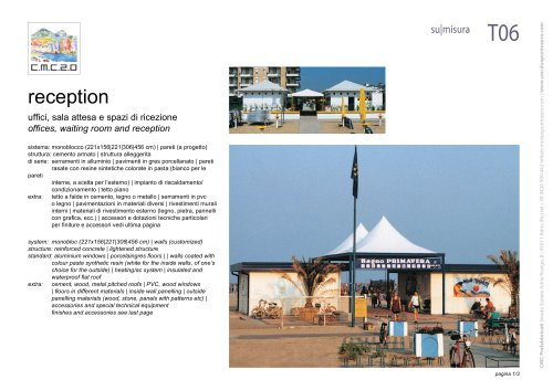 tourist reception / booths