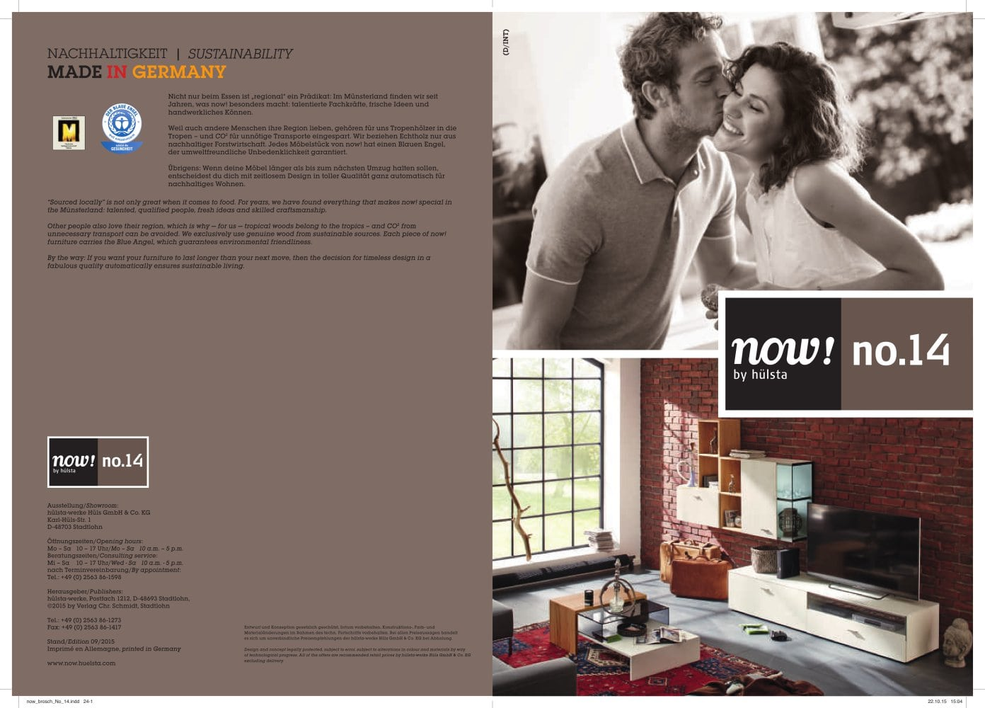 Now 14 Now By Hülsta Pdf Catalogs Documentation Brochures
