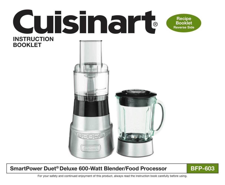 Smartpower deluxe duet bfp 603 cuisinart france pdf catalogues smartpower deluxe duet bfp 603 1 29 pages forumfinder Gallery