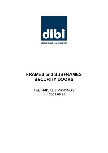 Steel frames with thermal break for Opentech