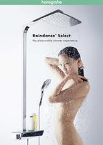 Raindance Select  Showerpipes