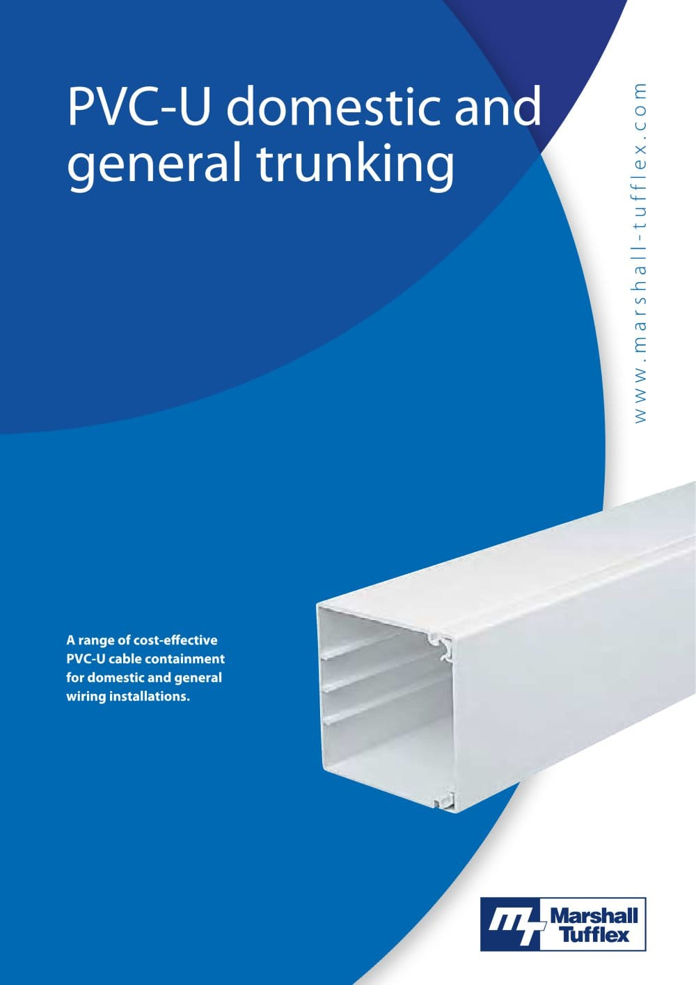 Domestic General Trunking Marshall Tufflex Pdf Catalogues Installation Wiring 1 20 Pages