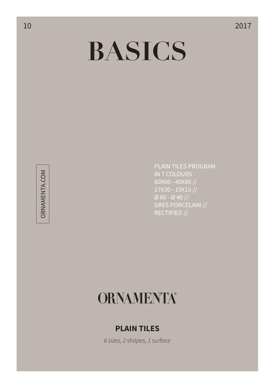 basics ornamenta pdf catalogues documentation brochures
