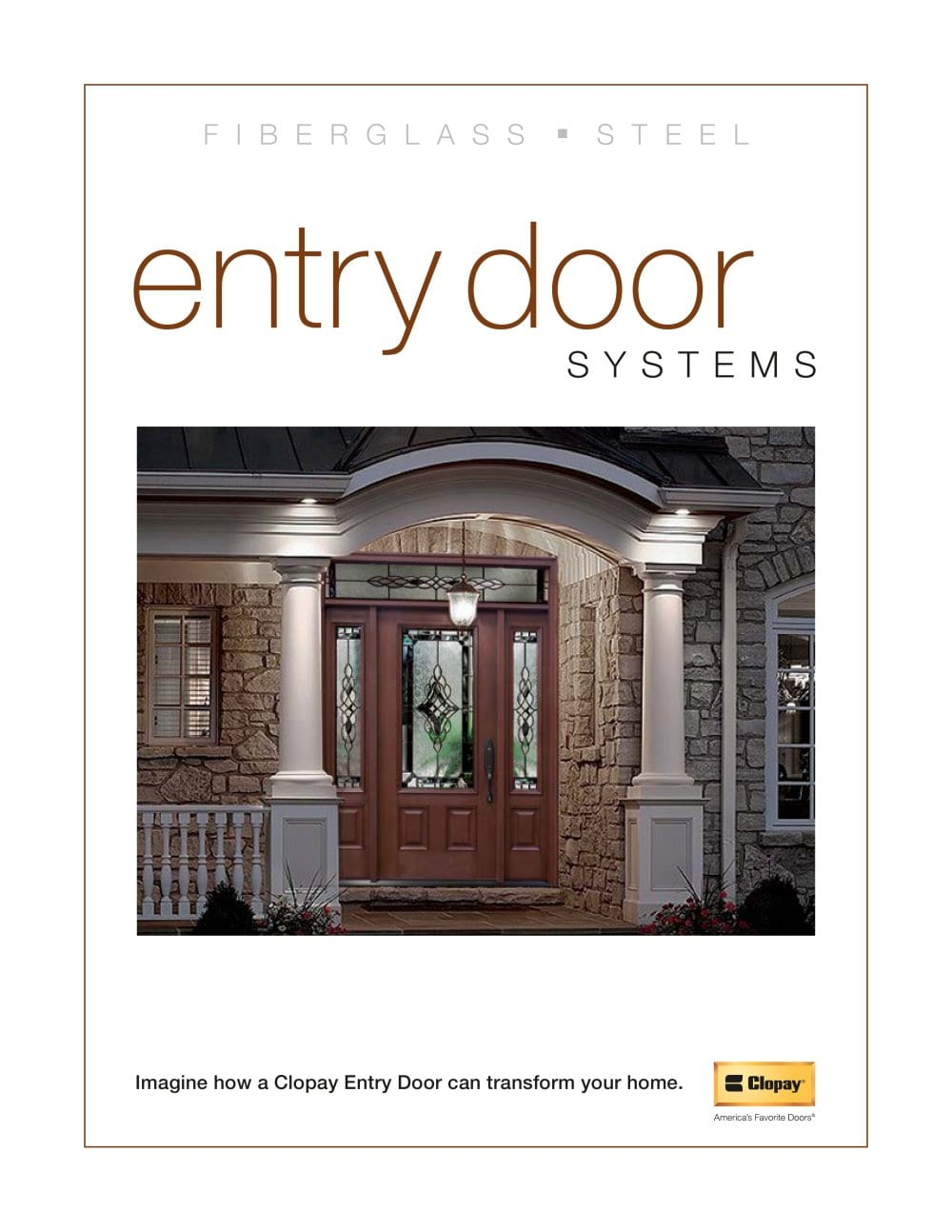 Entry Door Idea Brochure - 1 / 56 Pages  sc 1 st  Catalogues Archiexpo & Entry Door Idea Brochure - Clopay door - PDF Catalogues ...