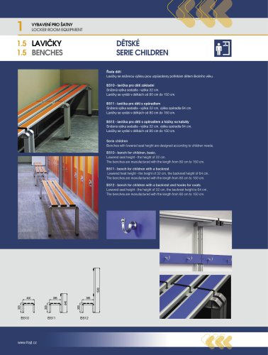 Benches – Children