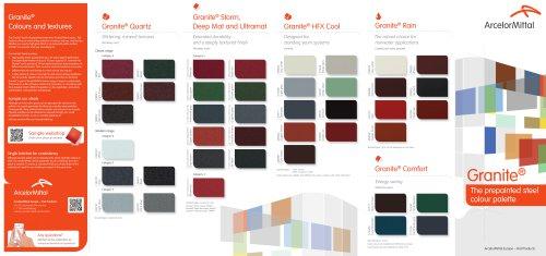 Granite® Colour Palette