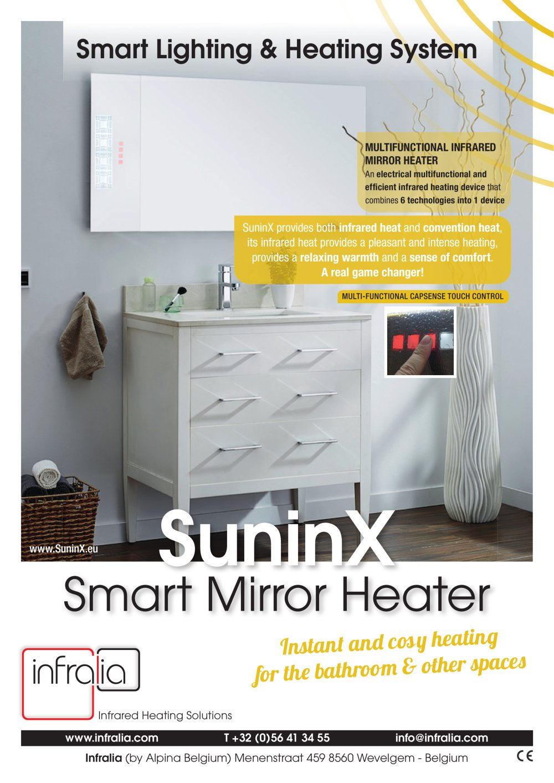 Smart Infrared Mirror Bathroom Heater SuninX - Infralia - PDF ...