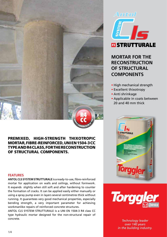 ANTOL CLS SYSTEM STRUTTURALE - Torggler - PDF Catalogs