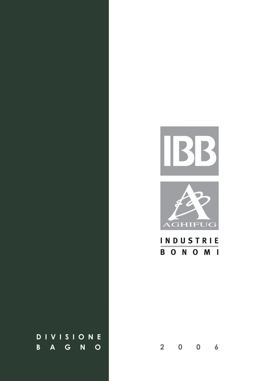 Ibb Bonomi Accessori Bagno.Bathroom Division Ibb Industrie Bonomi Pdf Catalogues