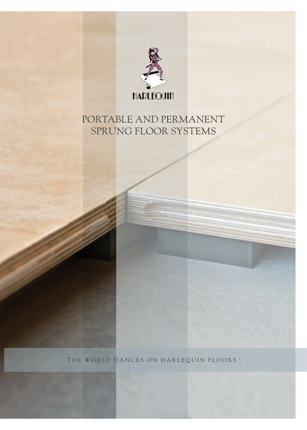 PORTABLE AND PERMANENT SPRUNG FLOOR SYSTEMS - 1 / 12 Pages