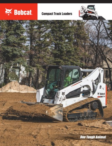 Compact Track Loaders - BOBCAT - PDF Catalogs | Documentation