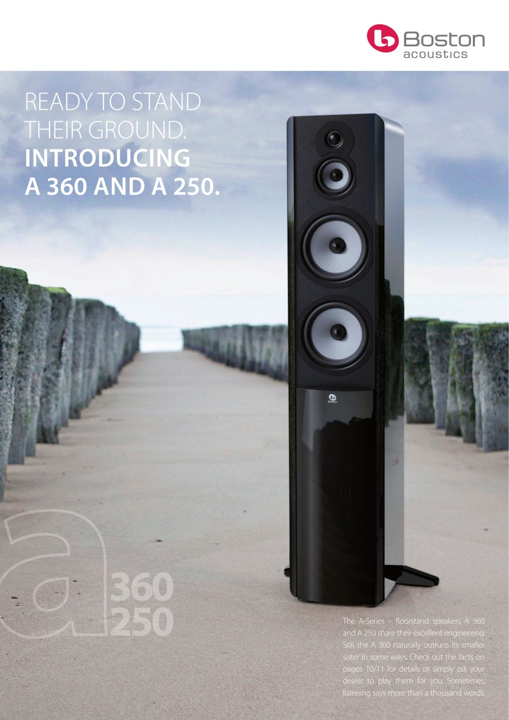 A 360 And 250 Boston Acoustics Pdf Catalogues Documentation 225c 1 2 Pages