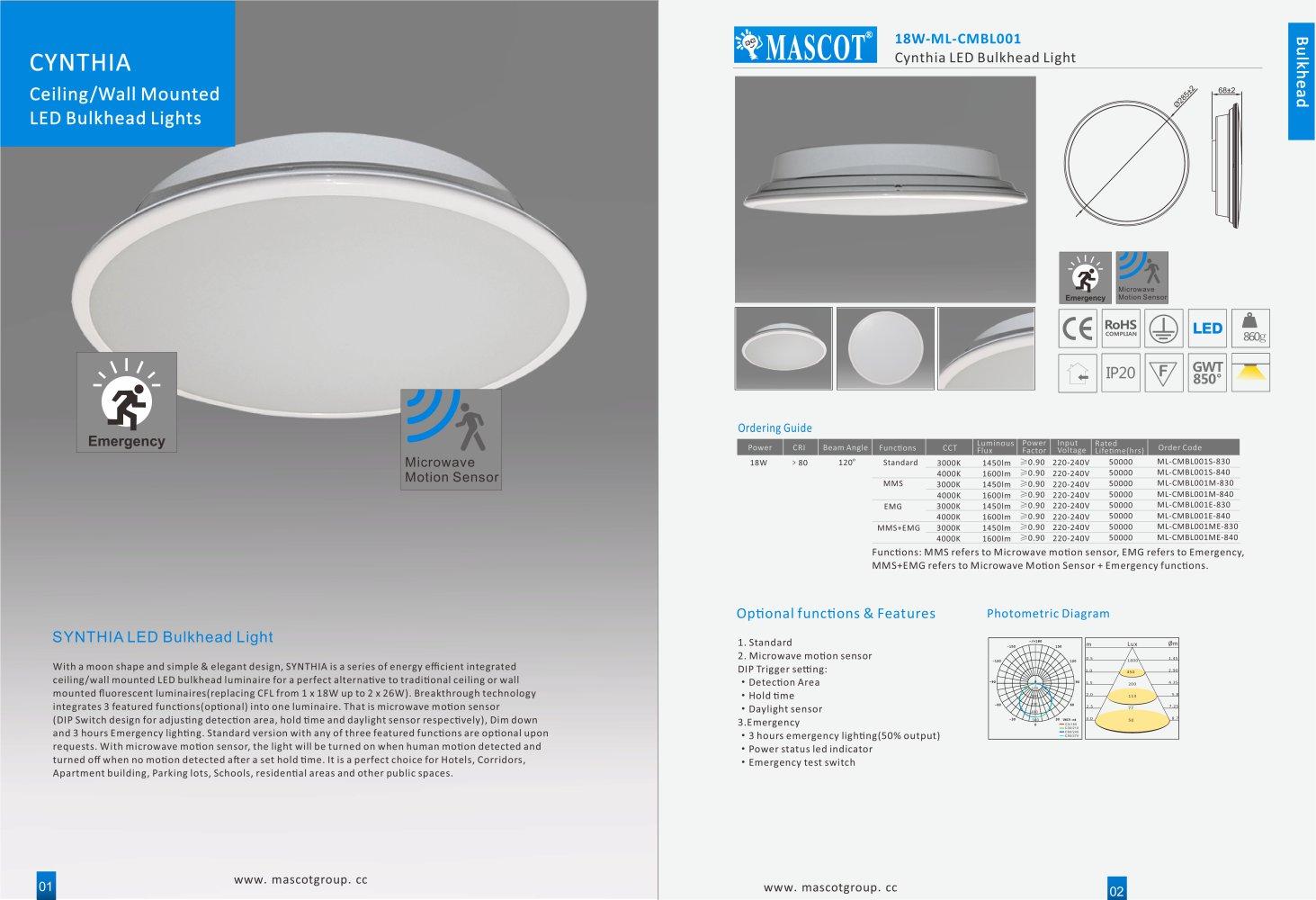 Bulkhead Ceiling lights - Mascot Group - PDF Catalogues ...