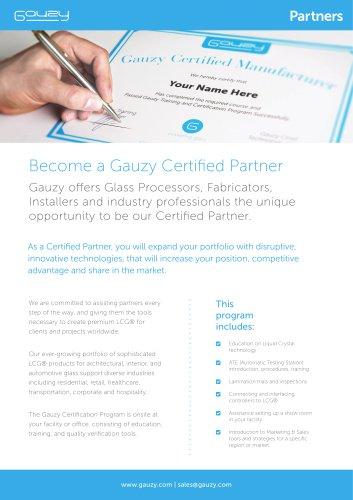 Become a Gauzy Partner