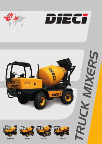 TRUCK MIXERS - DIECI - PDF Catalogs | Documentation | Brochures