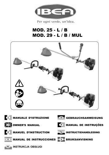 Mod. 25-29 L / B / MUL