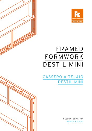 DESTIL MINI - Farina Formworks - PDF Catalogs