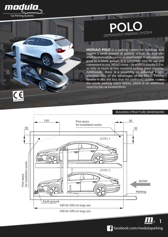 POLO - technical card - Modulo parking - PDF Catalogs