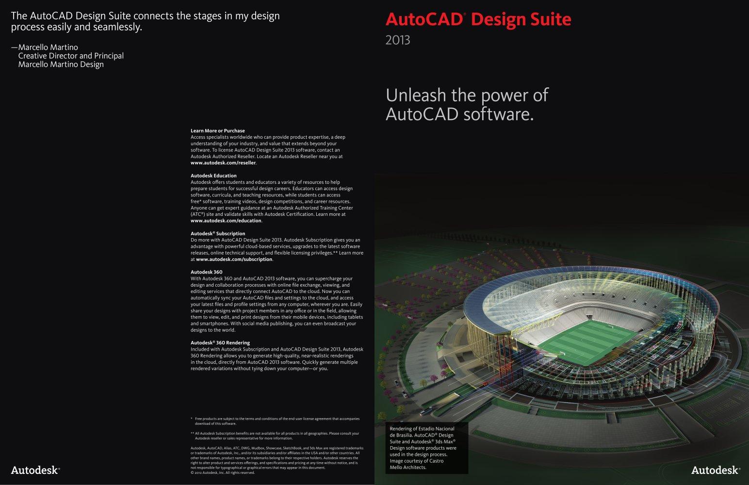 Autocad Design Suite Brochure Autodesk Pdf Catalogues