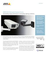 AXIS Q16 Network Camera Series