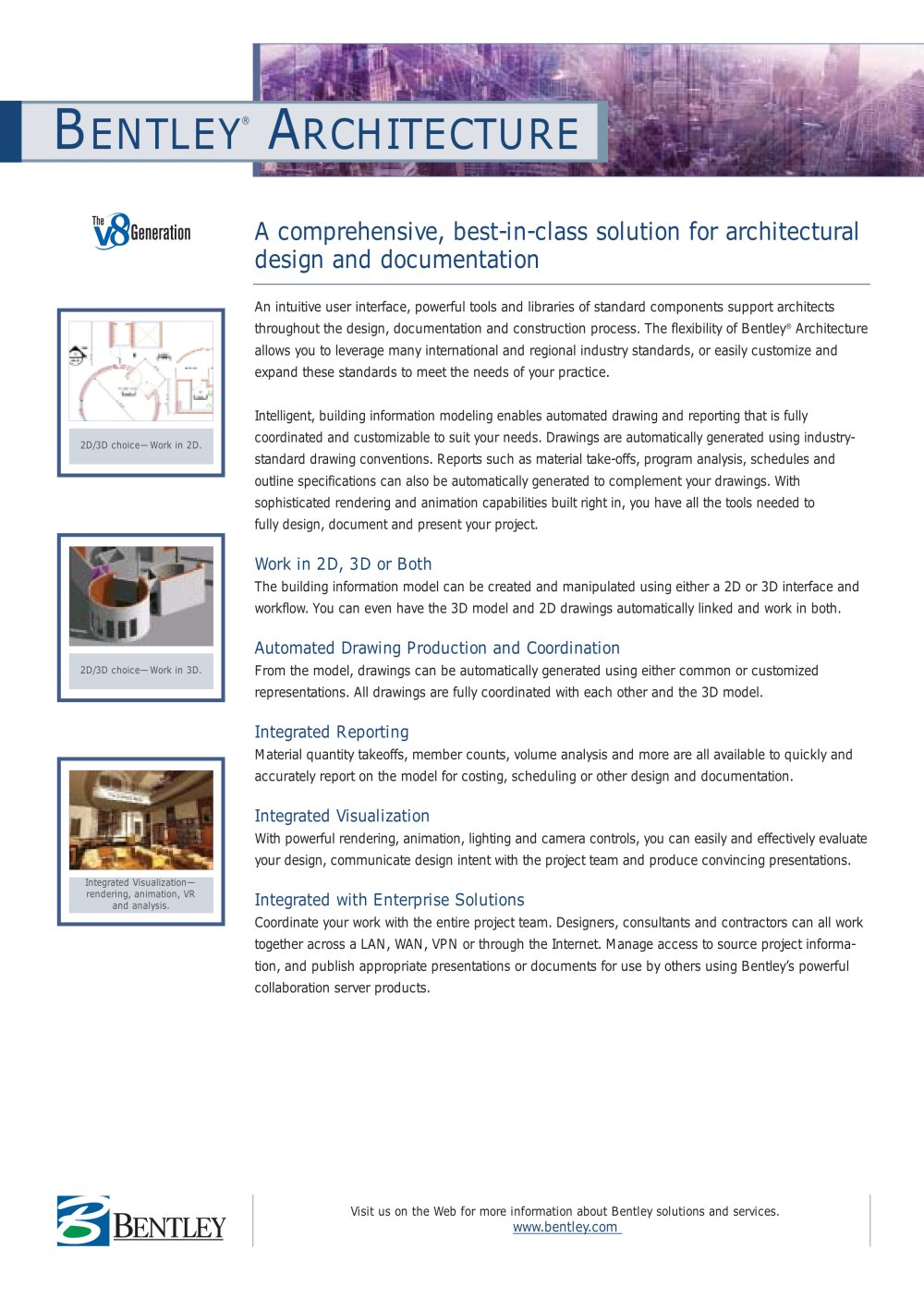 Bentley architecture 1 2 pages