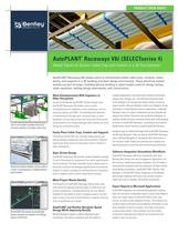 PRODUCT DATA SHEET AutoPLANT ® Raceways V8 i