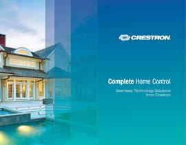 CRESTON COMPLETE HOME CONTROL 2009