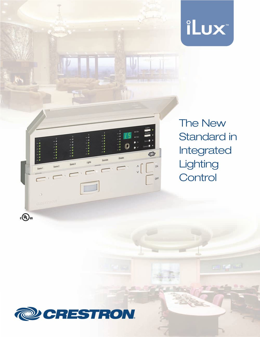 Ilux Crestron Pdf Catalogues Documentation Brochures Lighting Dimmer Wire Diagram 1 14 Pages