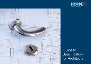 Guide to Specification for Architects