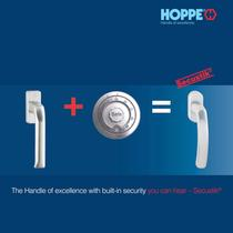 HOPPE Secustik® - The Handle of excellence with built-in security you can hear