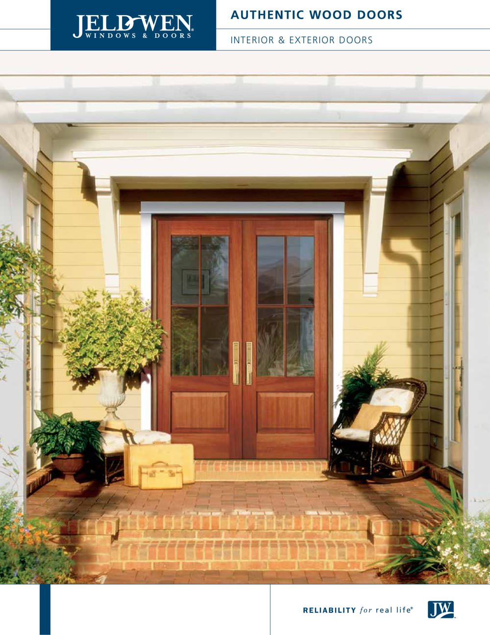 Authentic Wood Exterior Doors - JELD-WEN - PDF Catalogues ...