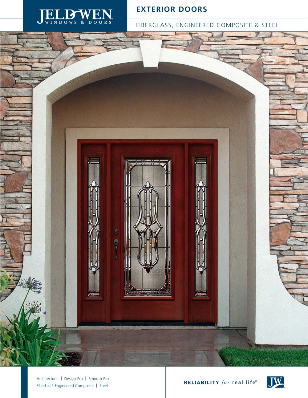 Custom Wood Contemporary Interior & Exterior Doors - JELD-WEN ...