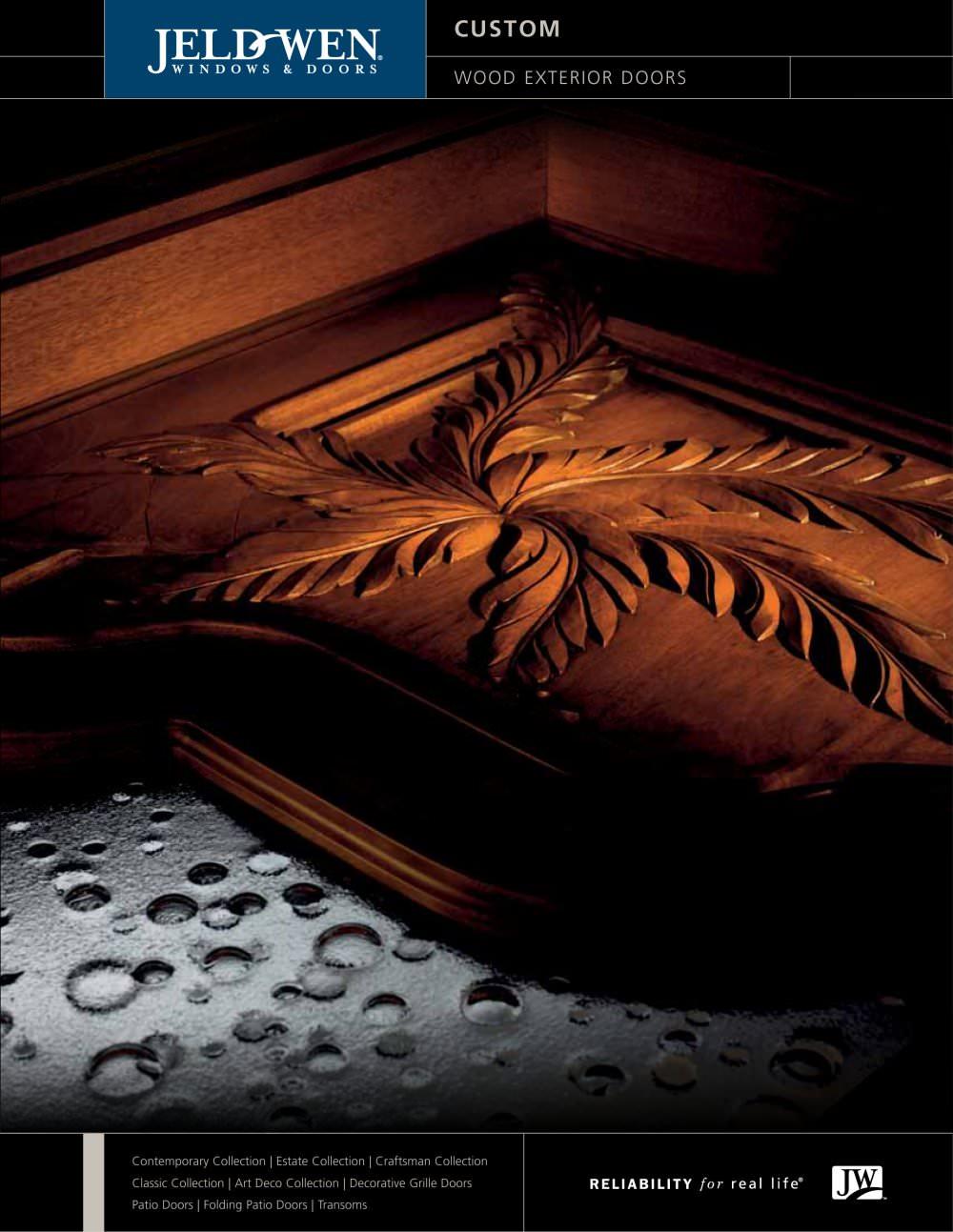 Custom Wood Exterior Doors - JELD-WEN - PDF Catalogues ...