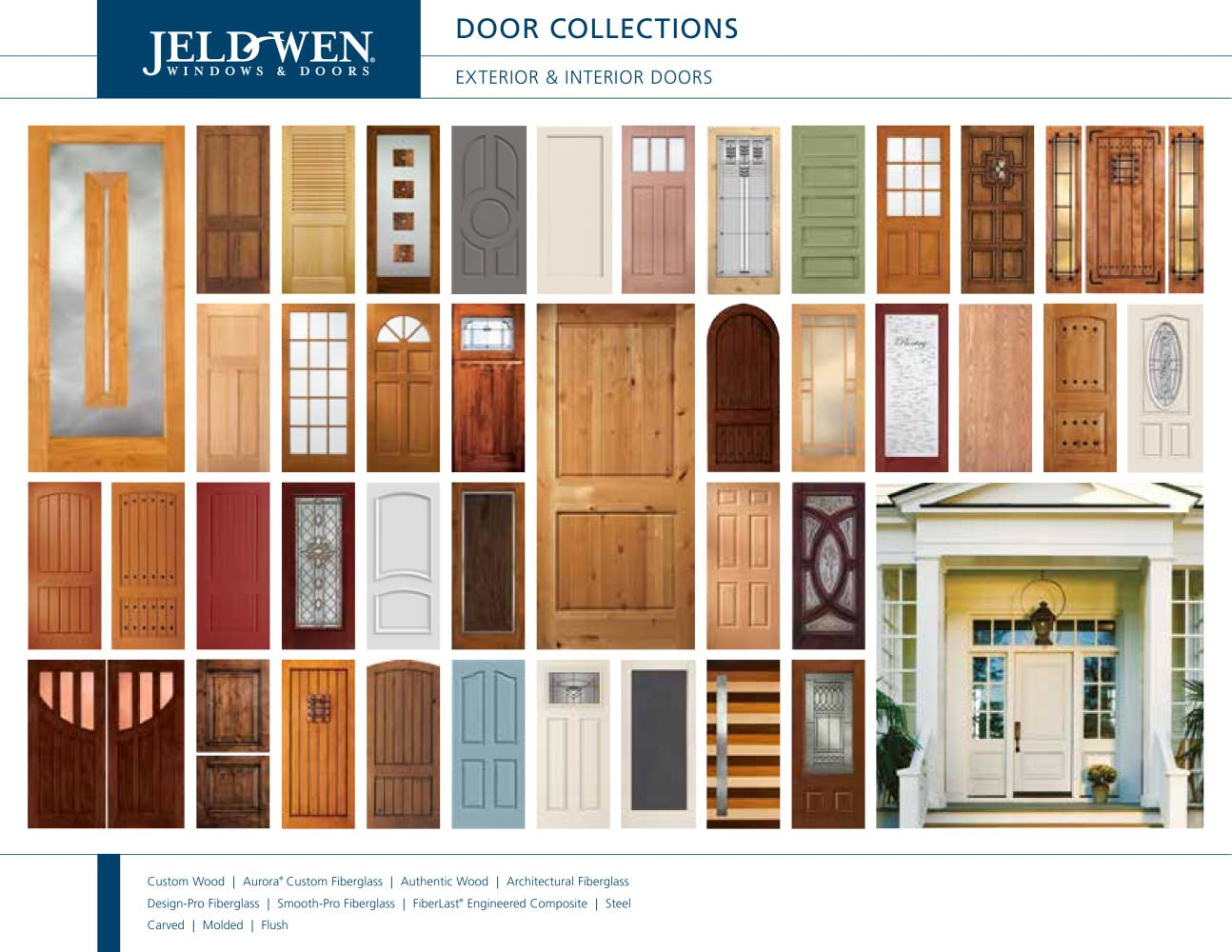 Door collections   1   55 Pages. Door collections   JELD WEN   PDF Catalogues   Documentation