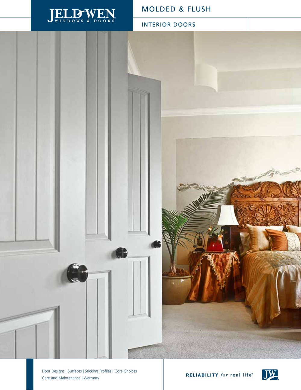 Molded And Flush Wood Composite Interior Doors Jeld Wen Pdf
