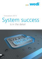 Innovations 2013 - System success is in the detail